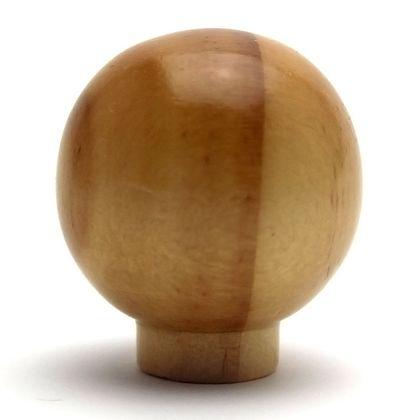 木製つまみ パイン 横幅:最大32mm、設置面の横幅:15mm、高さ:35mm TW-324