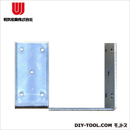 【送料無料】和気産業 巾広アングル120(箱売) 4.5×120×120×60(mm) ユニクロ YS-102C 20枚入