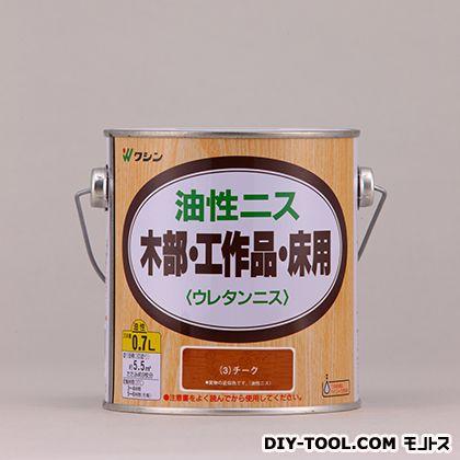 和信ペイント 油性ニス チーク 0.7L