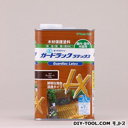 水性ガードラックラテックス木材保護塗料(防虫・防腐・防カビ効果) チョコレート 0.7kg LX-5