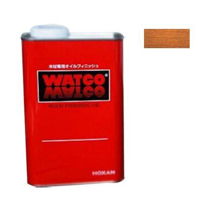 ワトコオイル浸透性木材用塗料 ミディアムウォルナット 3.6L W-12