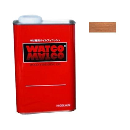 ワトコワックス浸透性木材用塗料 白(ナチュラル) 3.6L W-15