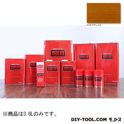 ティンバーガード浸透性木材用塗料 W-03(ナチュラル) 3.6L