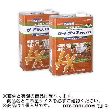 【送料無料】和信化学工業 ガードラックラテックスW・Pステイン(木材保護塗料) LX-7 オリーブ 3.5Kg 58167