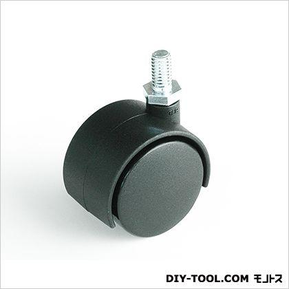 ニ輪キャスターボルトタイプN-40 黒 40mm 17403