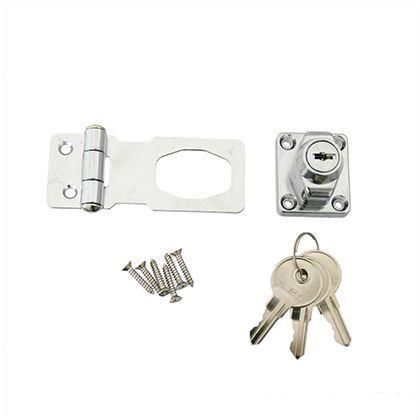 鍵つき掛金錠鉄  60mm J-455
