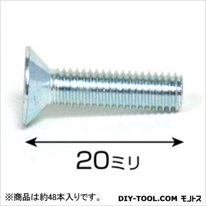 ユニクロ皿小ネジ ISO  5×20 75527 1袋(約48本)
