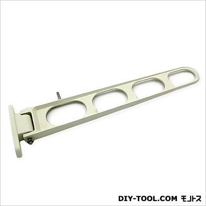 横付型物干金具横収納式・縦座タイプ ホワイト 450mm 00096399