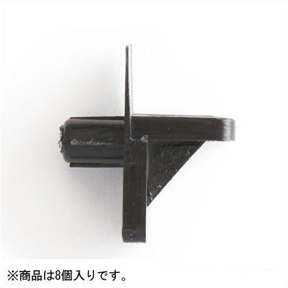 ダボ棚受 L型  6.4mm Z-167 1袋(8個)