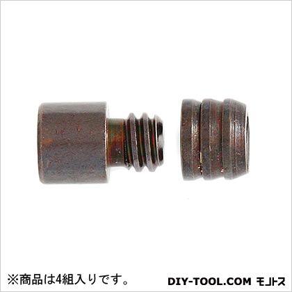 真鍮ダボ棚受 GB色 8mm Z-508 1袋(4組)