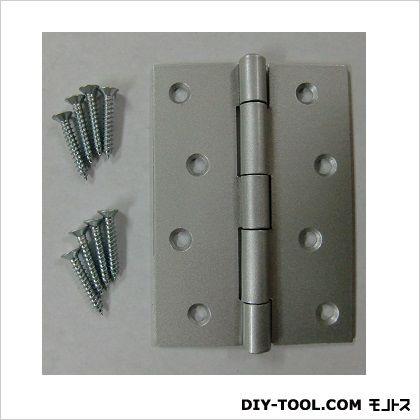 フジテック カラー丁番 シルバー 102mm 11008 10枚