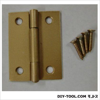フジテック カラー丁番 ゴールド 51mm 11014 30枚