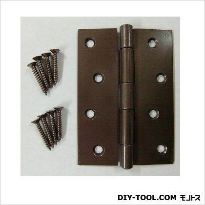 フジテック カラー丁番 ブラウン 102mm 11028 10枚