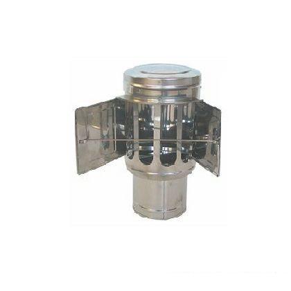 ステンレス逆風止め120  外径120mm/厚み0.3mm D-041