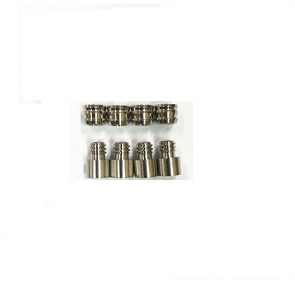 P 真鍮ダボ棚 ニッケル 8mmm/m 81930 4 セット