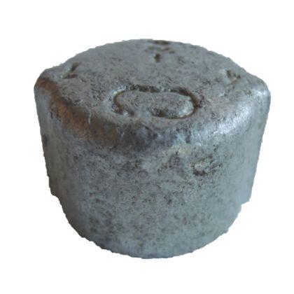 配管(ガス管)パーツねじ込み式キャップ  呼び径A:15呼びB:1/2