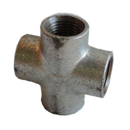 配管(ガス管)パーツねじ込み式クロス  呼び径A:20呼びB:3/4