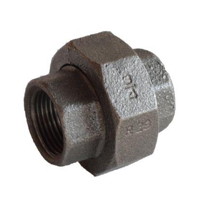 配管(ガス管)パーツねじ込み式ユニオン  呼び径A:15呼びB:1/2
