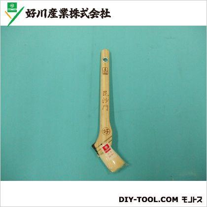 好川産業 ヤギ毛風化繊刷毛 毘沙門 8号24mm 011642