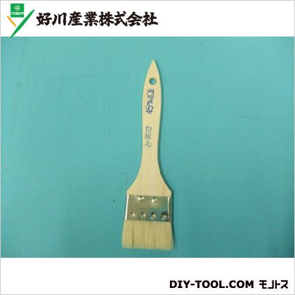 好川産業 豚毛金巻刷毛 15号45mm 813565