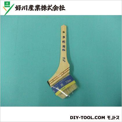 好川産業 エンジョイペインティング水性用刷毛 70mm 52607