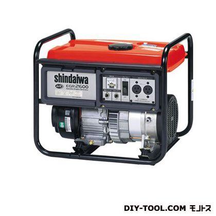 ガソリン発電機  幅×奥行×高さ:412×540×465mm EGR2600-SB