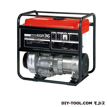 ガソリン発電機  幅×奥行×高さ:430×570×573mm EGR36-SB