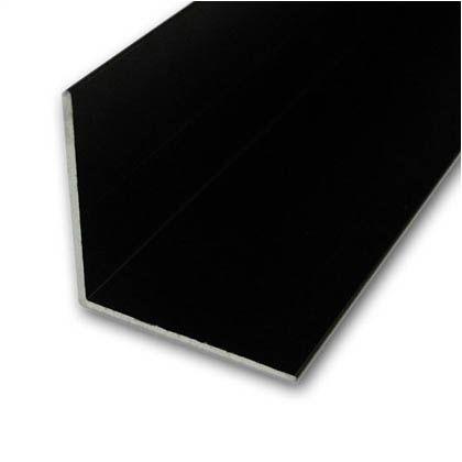 【送料無料】安田製作所 アルミアングル 1820×30×0.8mm ブラック TN-276 8本