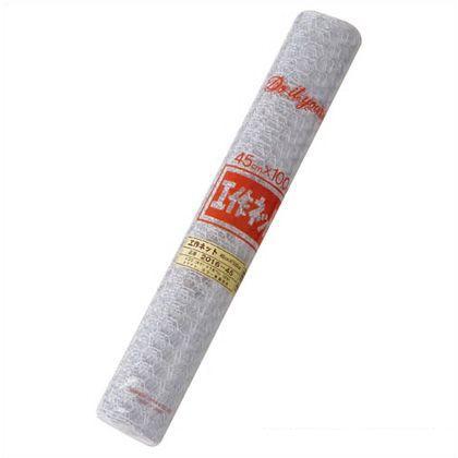 工作ネット ホワイト 巾×長さ:450mm×1m 2016-45 W