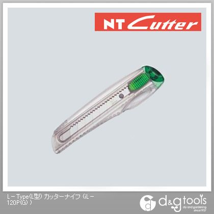 NTカッタースケルトングリーンL型   iL-120P(G)