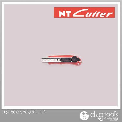NTカッター Lタイプスペアの刃L型カッターナイフ SL-3P