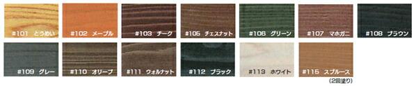 木材屋外用保護塗料 ニューボンデンシリーズ
