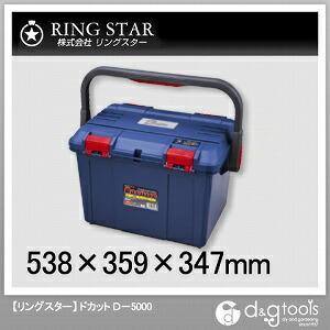 工具箱 ドカット ブルー  D-5000