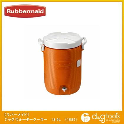 保冷ジャグウォータークーラー オレンジ 18.9L R1840999