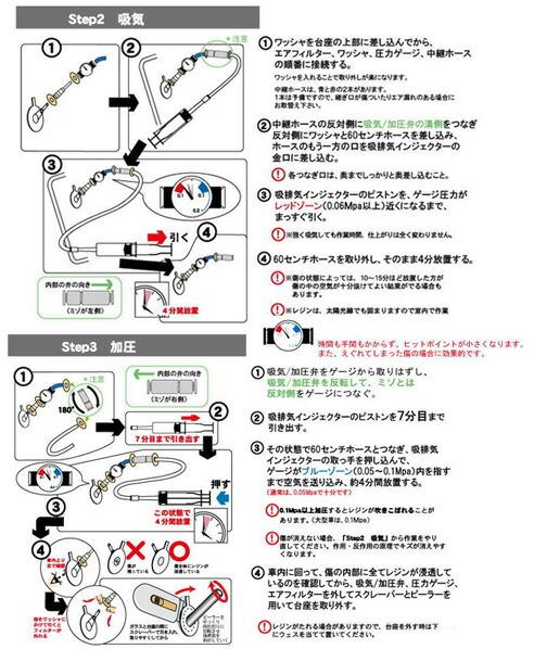 ウインドリペア 5ステップ・ エコ6 (工具・ 消耗品付き)