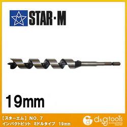 インパクトビットミドル  19mm 7M-190