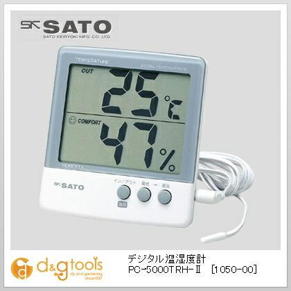 佐藤最高最低温湿度計   1050-00