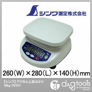 【送料無料】シンワ測定 デジタル上皿はかり 30kg 70107 1