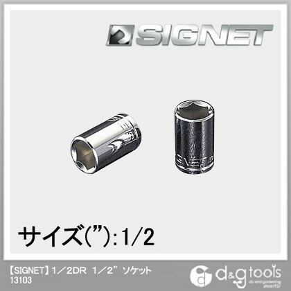 シグネット ソケット 1/2DR 1/2  13103