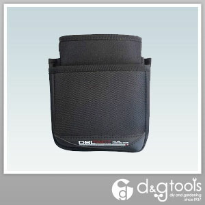 DBLTACT2段腰袋   DT-02S-BK
