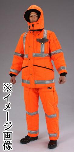 防寒ズボン オレンジ M (EA915GC-42)