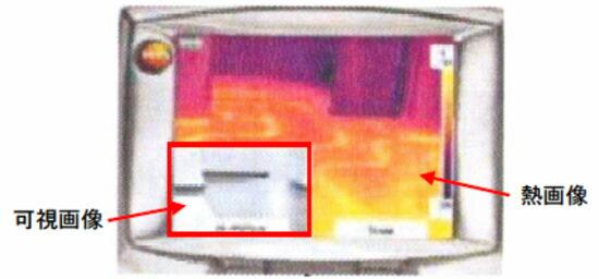 -20℃/+350℃赤外線サーモグラフィ