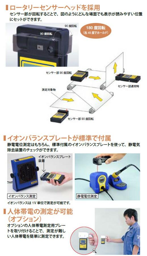 静電気レベルメーター