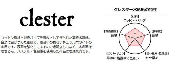 クレスター水彩紙 310g ロール10m
