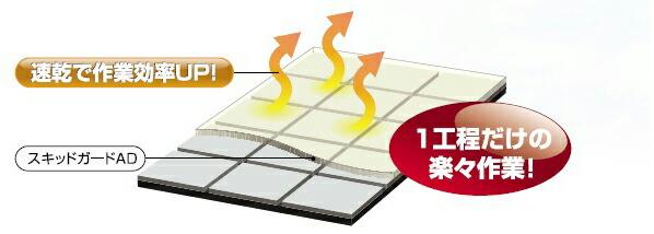 スキッドガードAD(床タイル用滑り止め塗料)