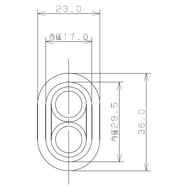 ペア耐熱管(サヤ管つき) 10A