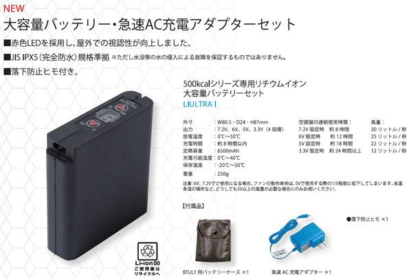 付属品大容量 リチウムイオンバッテリーセット
