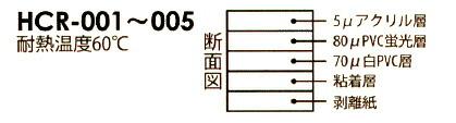 リンテックコマース 粘着シート 蛍光フィルム シルバー (HCM-001)
