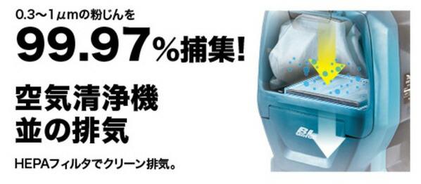 マキタ 充電式背負いクリーナ(バッテリー・充電器 別売り) (VC260DZ)