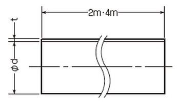 換気パイプ(一般冷暖房空調用ダクト)